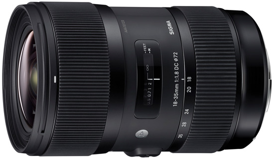 Sigma 18-35mm f/1,8 DC HSM Art