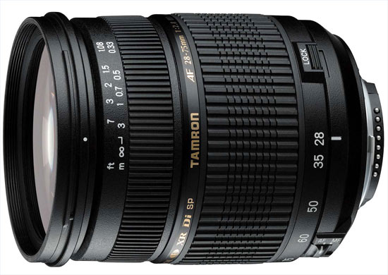 Tamron SP AF 28-75mm f/2,8 XR Di Macro (motorized)